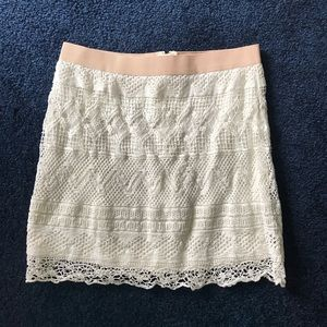 American Eagle white skirt